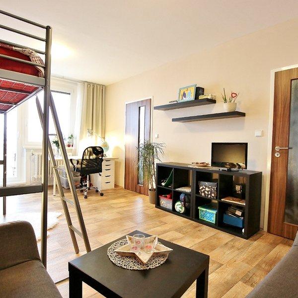 Pronájem bytu 1+1 40 m2 v Brně – Bystrci, Teyschlova