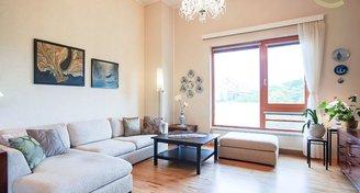 Luxusní slunný 3+kk 101 m2 s balkonem a garáží