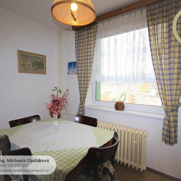 Prostorný byt 3+1 s lodžií, 70 m2, centrum Liberce