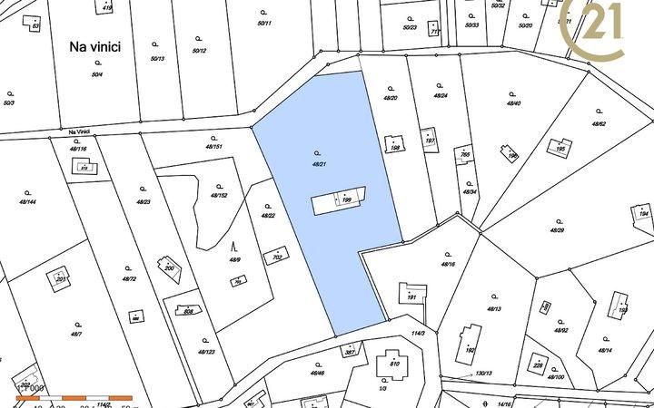 Pozemek v obci Brnky - Zdiby, 4038 m2