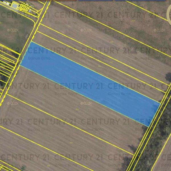 Stavební pozemek 13020 m2 Pouzdřany