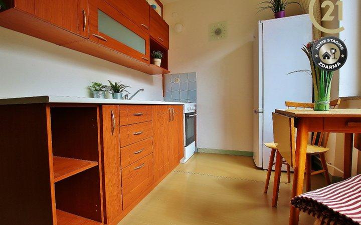 Pronájem bytu 2+1 56 m2 v Brně – Lesné, ul. Jurkovičova
