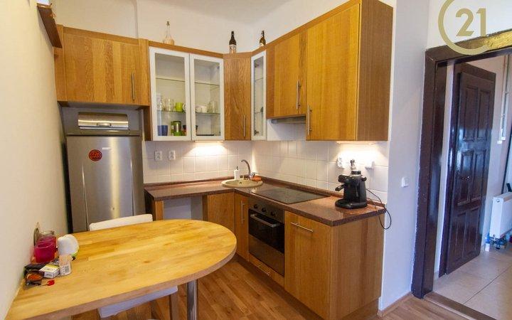 Prodej útulného bytu 2+1 Nusle