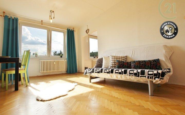 Prodej prostorného bytu 2+1, Bystrc