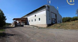 prodej výrobní či skladové haly Kunice u Lysic