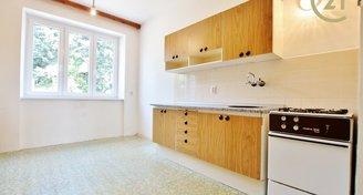 Byt 1+1 45 m2, s krásným výhledem a zahradou na ul Viniční