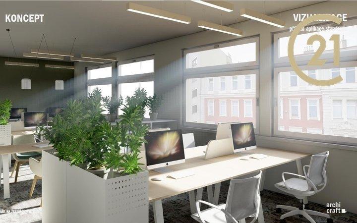 Kancelářské prostory v blízkosti metra, 260 m2