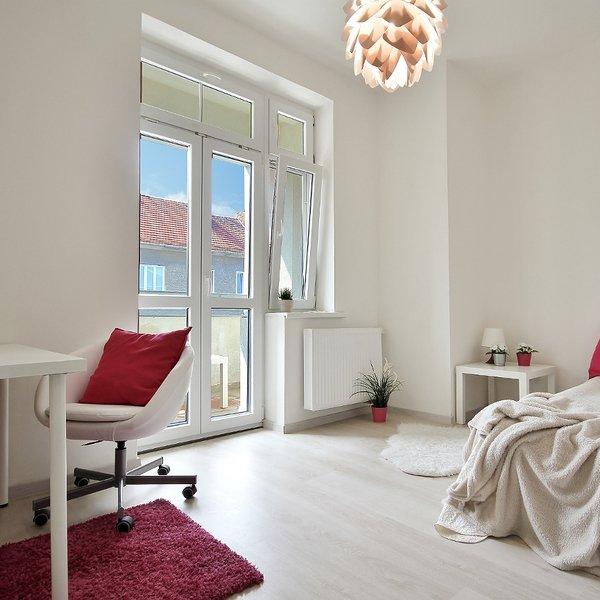 Pronájem bytu po rekonstrukci 86 m2, 3+kk s balkonem na ul. Tučkova