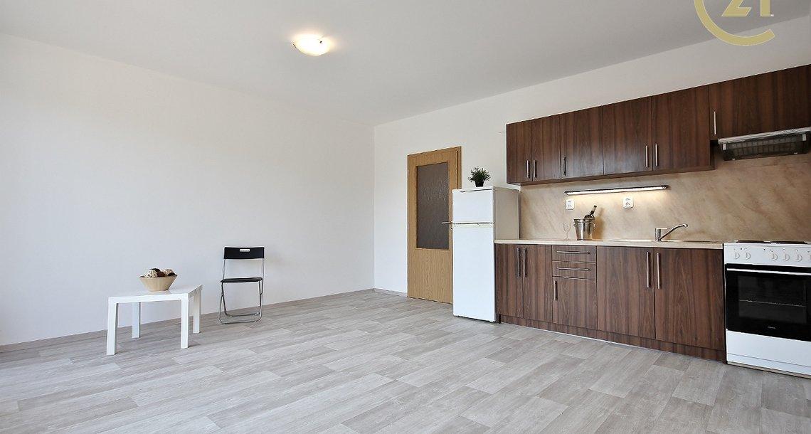 Pokoj s kuchyňským koutem 23 m2