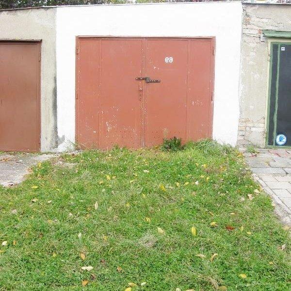 Prodej zděné garáže v Brně-Králově Poli, ul. Červinkova