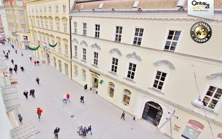 Dvě kanceláře v centru města Brna 70 m², ul. Kobližná 2
