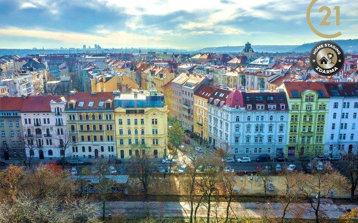 Byt 4+1, 164,8 m2, Praha 7 (Letná), Bubeneč