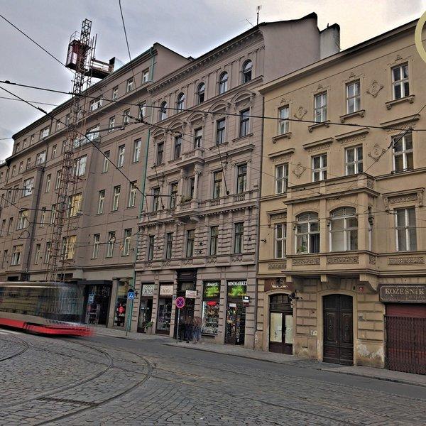 Činžovní dům, prodej podílu 1/32, Praha 1