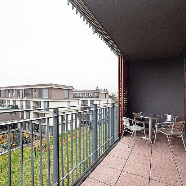 Zařízený byt 2+kk/T (46 m2+11 m2) Litoměřická, Praha 9