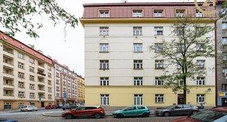 Slunný byt 3+1/S (59 m2) Zelenky-Hajského, Praha 3