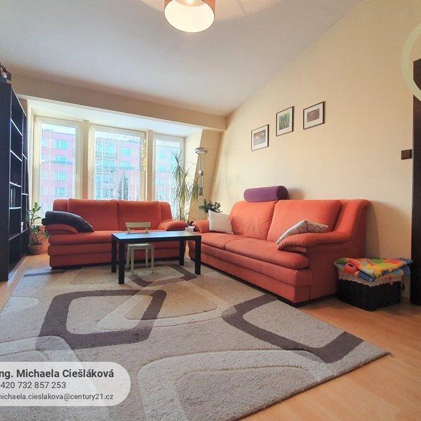 Prostorný byt 3+1, sklep, půdní prostor, 78,4 m2