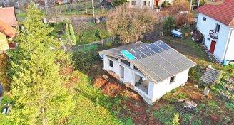 Krásný rodinný dům 3+kk v Hostovicích s pozemkem 816m2