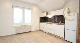 Pronájem, podkrovní byt 2kk, novostavba 6C, 41m2