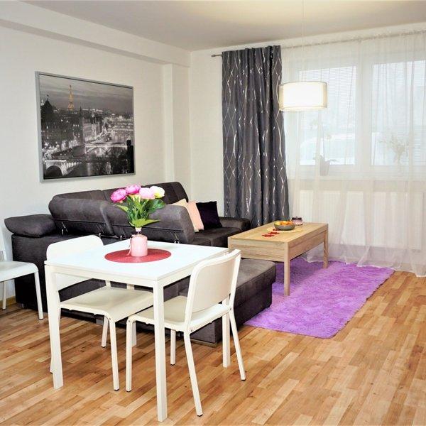 Prodej vybaveného bytu,  2+kk,  54m² - Holešov