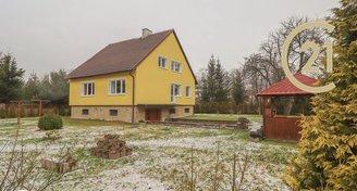 Rodinný dům 258 m2, pozemek 6028 m2, Rybniště
