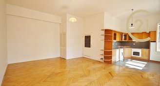 Pěkný velký byt 1+kk 51 m2 na ul. Panská