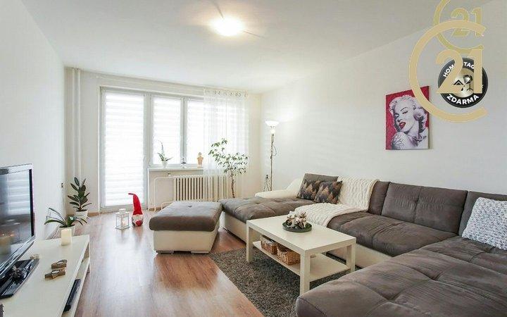 Prodej bytu  3+1 s garáží a zahradou - Prostějov 12 min