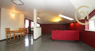 Pronájem prostorného bytu 2+kk, 83 m2, A/C, Horoměřice