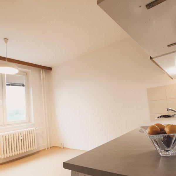 Pronájem pěkného světlého bytu 1+1 v Bystrci.