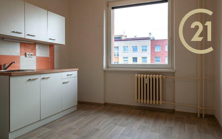 Prodej bytu 1+1, Nový Jičín, ul.Riegrova.