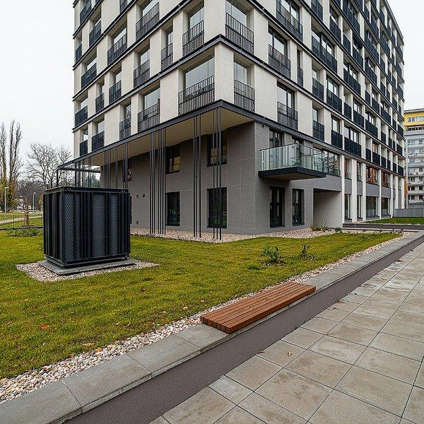 Zařízený byt 1+kk (30 m2) Střížkovská, Praha 8