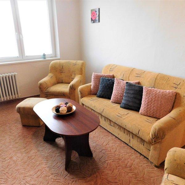 Podnájem zařízeného bytu 2+1, 52m², balkón, sklep, Vyškov