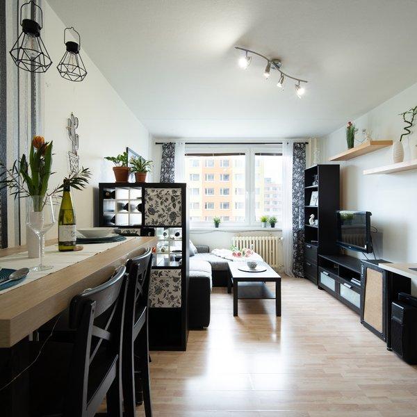 Prodej bytu 2+kk, 43 m2, Praha 8 - Bohnice
