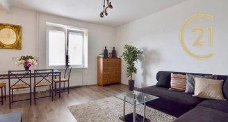 Krásný slunný byt na pronájem  2+kk, 53,5m² , Vršovice