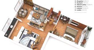 Prodej, Byty 2+1, 60m² - Mikulov