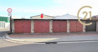 Prodej garáže Pardubice, ulice Na Staré poště