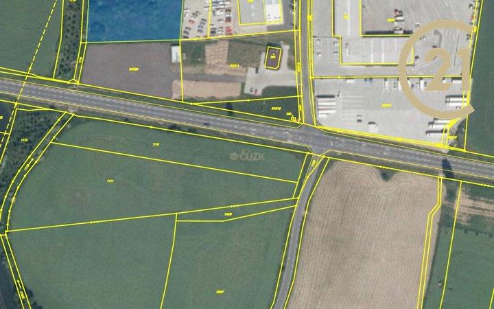 Prodej, Pozemky pro komerční výstavbu, 7375m² - Tuklaty