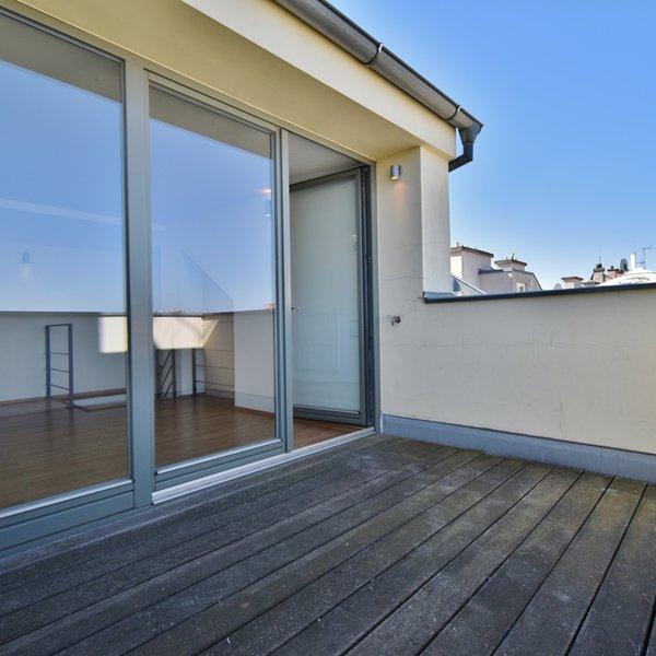 Střešní byt s terasou, 3+kk , 102 m2 na ul. Panská