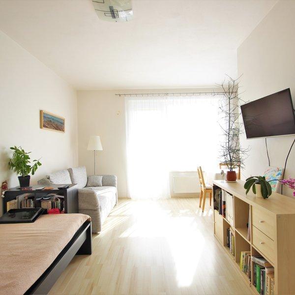 Pronájem bytu 1+kk, ul. U Leskavy, Starý Lískovec, CP 39 m2 včetně balkónu