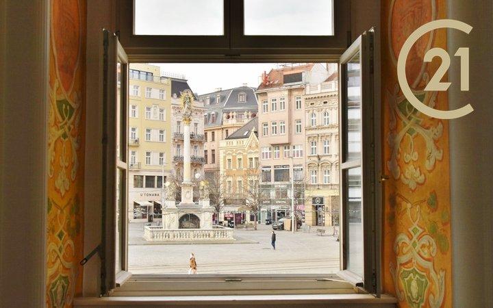 Reprezentativní kanceláře v centru města Brna, 315 m2, ul. Kobližná 2