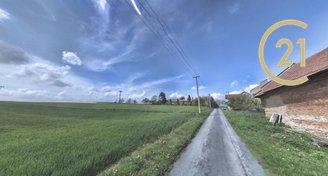 Prodej stavebního pozemku 3739 m2  Bojanovice u Zlobic
