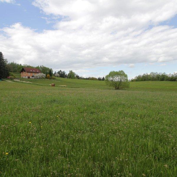 Pozemek o výměře 3 340 m2 v katastru Třemblat, obec Ondřejov