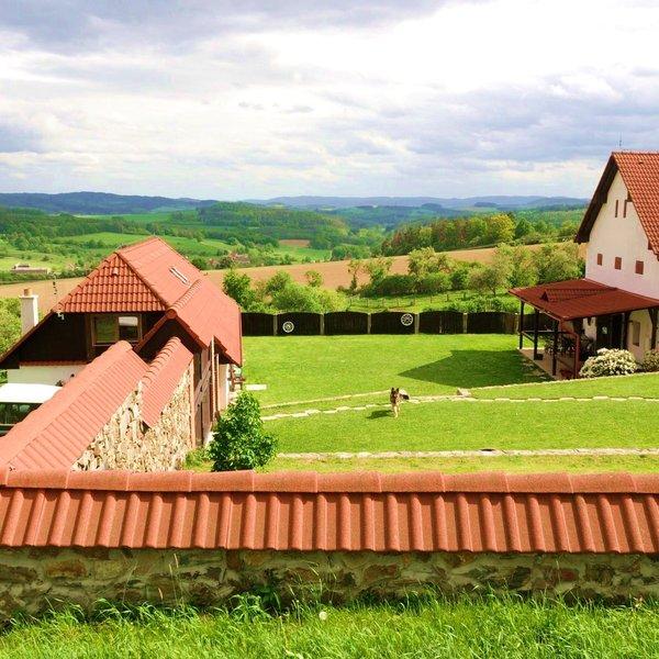 Zemědělská usedlost s pozemkem 115 000 m2. Radíč – Hrazany, okres Příbram