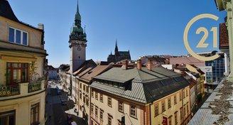 Pronájem krásného bytu po rekonstrukci 2+kk, 48 m² - ul. Panská 6, Brno