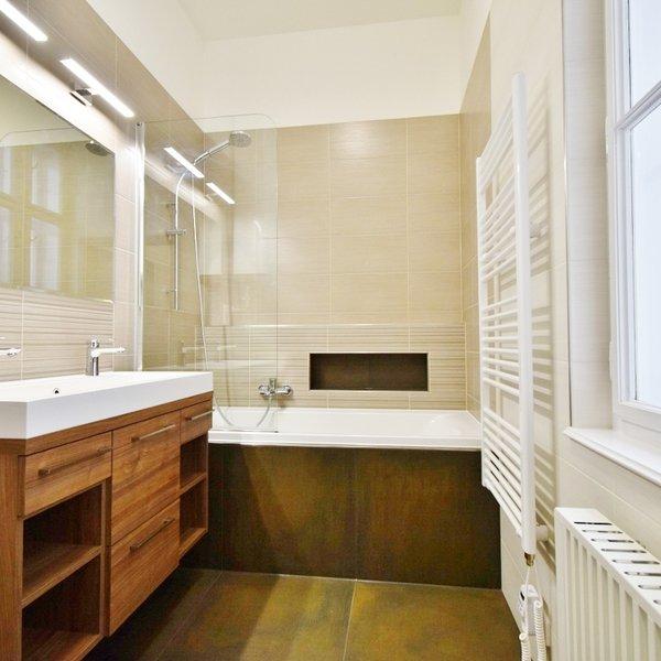 Pronájem krásného bytu po rekonstrukci 3+kk, 72 m² - ul. Panská 6, Brno