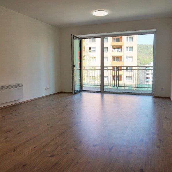 Pronájem bytu 1+kk (35m²) s terasou (11m²), Adamov