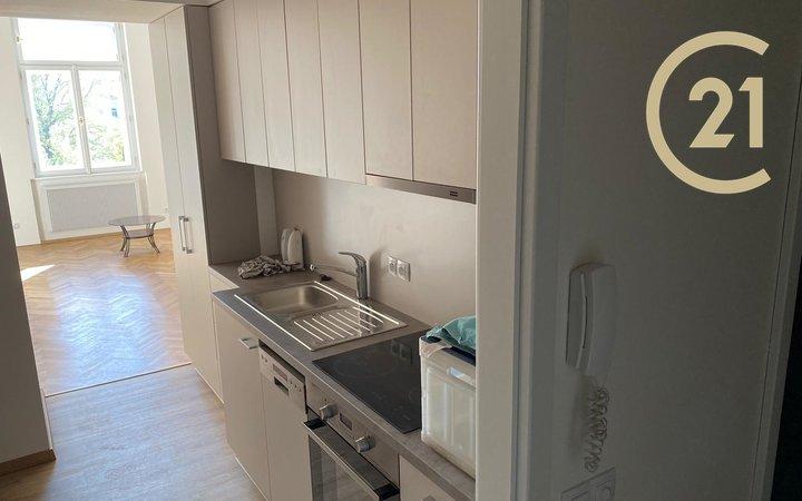 Ihned volný čistý a nově zrekonstruovaný byt 1+kk