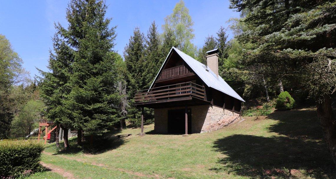 chata - pohed z jichovýchodu