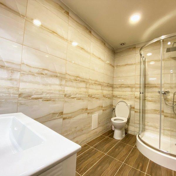 Pronájem krásného a nového mezonetového bytu 2+kk 52m2 ve Slaném