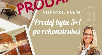 Prodej bytu 3+1, Višňovce, Hulín