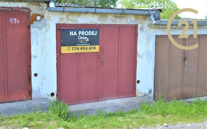 Prodej, Garáž, OV - 16m² - Kaplice